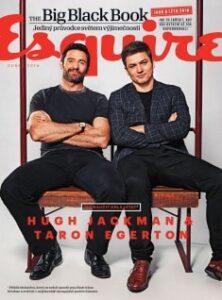 Obálka magazínu Esquire 04/2016
