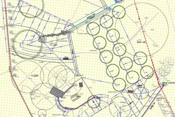precizní prováděcí dokumentace je samozřejmou součástí každého projektu od zahradních architektů Flera design