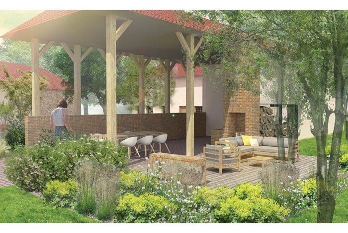 Profesionální studie je pro zahradní architekty z atelieru Flera samozřejmostí