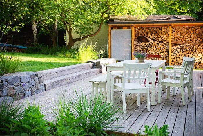 Projekt s názvem Zahrada s houpačkou je ukázkou milé práce zahradních architektů z Flera design