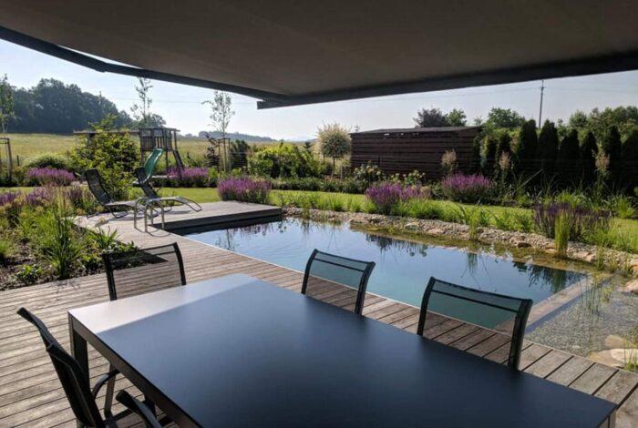 Zahradní architekti z atelieru Flera obsadili v soutěži Koupací jezírko 2019 první místo