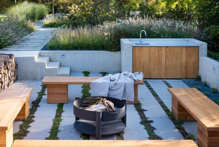 Zahradní architekti z atelieru Flera dokázali uspokojit potřeby celé rodiny v projektu s názvem Zahrada pro tři generace