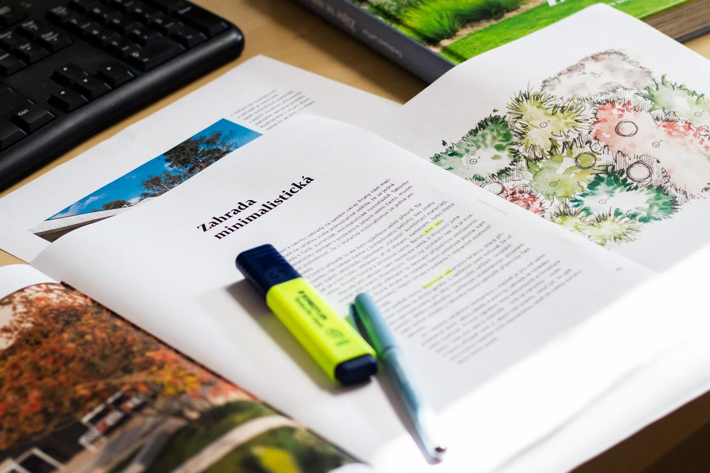 Svou novou knihu Žijte ve své zahradě Fardinand Leffler do detailu propracoval