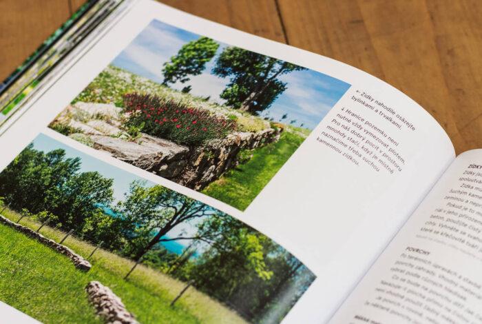 Lefflerova kniha Žijte ve své zahradě je plná krásných fotek a zajímavých tipů a nápadů