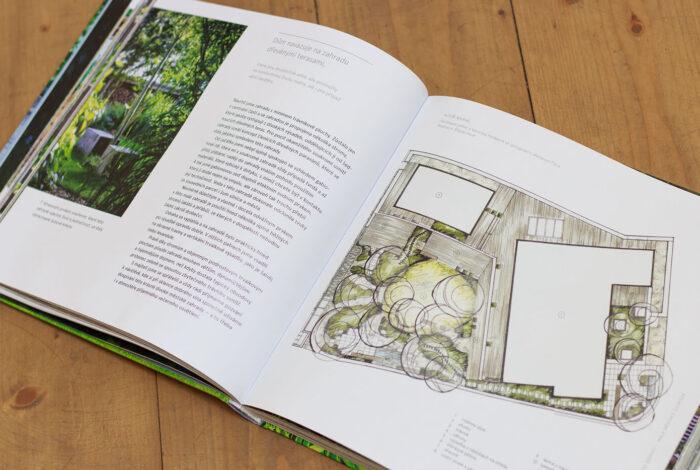 Kniha Žijte ve své zahradě vás provede úžasným světem zahradní architektury a inspiruje k tvoření své zahrady