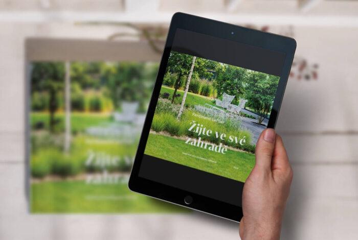 Kniha Žijte ve své zahradě od Ferdinanda Lefflera je k dostání také v elektronické podobě