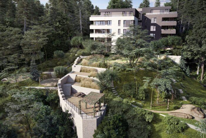 Vítězem Best of Realty se stal projekt Barrandovská zahrada od architektů atelieru Flera design
