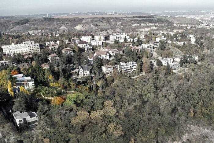 Okolí Barrandovské zahrady od Flera design - vítězného projektu Best of Realty
